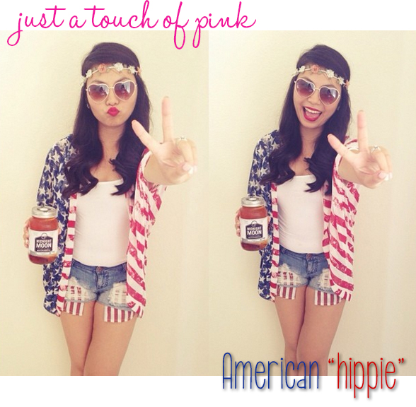 Just a Touch of Pink | Vivian Huang Fourth of July Outfit of the Day
